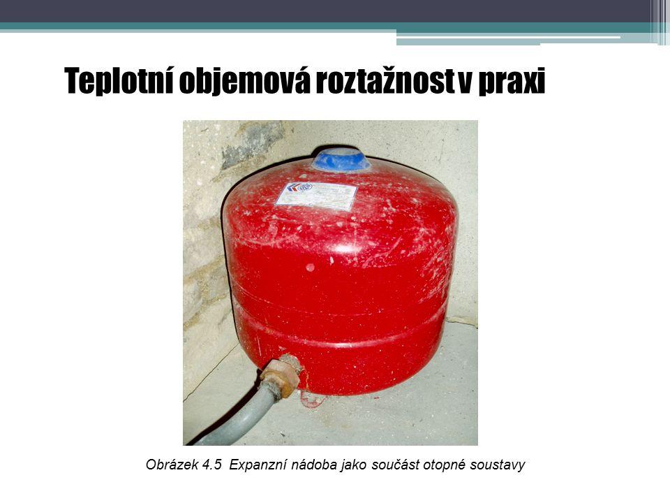 Obrázek 4.5 Expanzní nádoba jako součást otopné soustavy