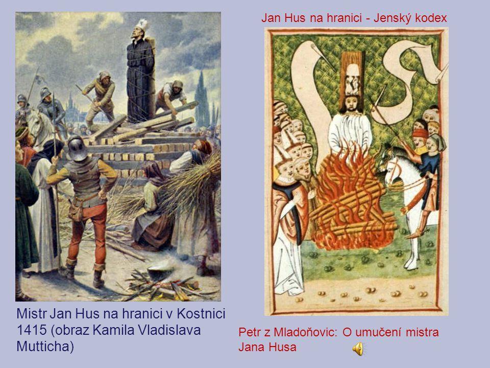Jan Hus na hranici - Jenský kodex