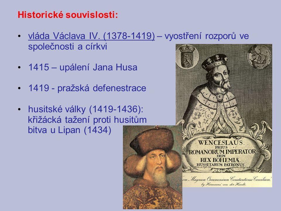 Historické souvislosti: