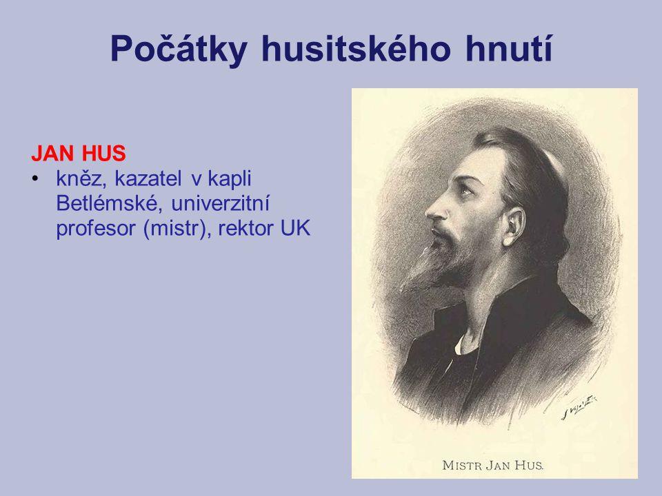 Počátky husitského hnutí