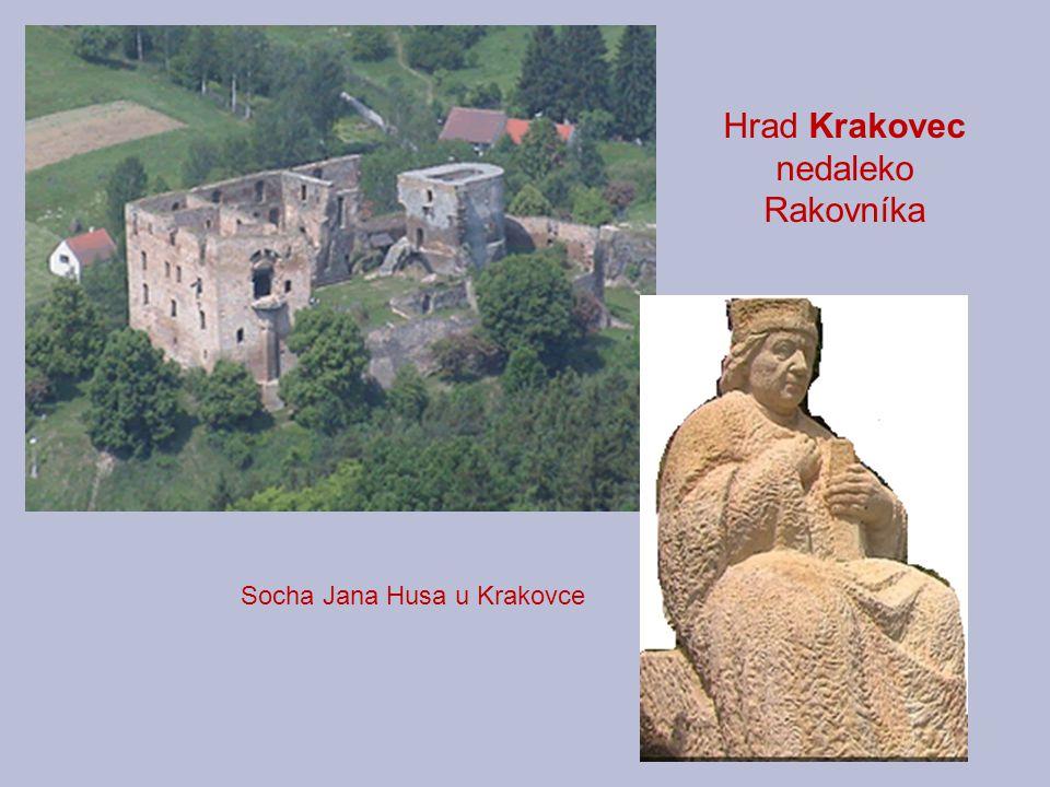 Hrad Krakovec nedaleko Rakovníka