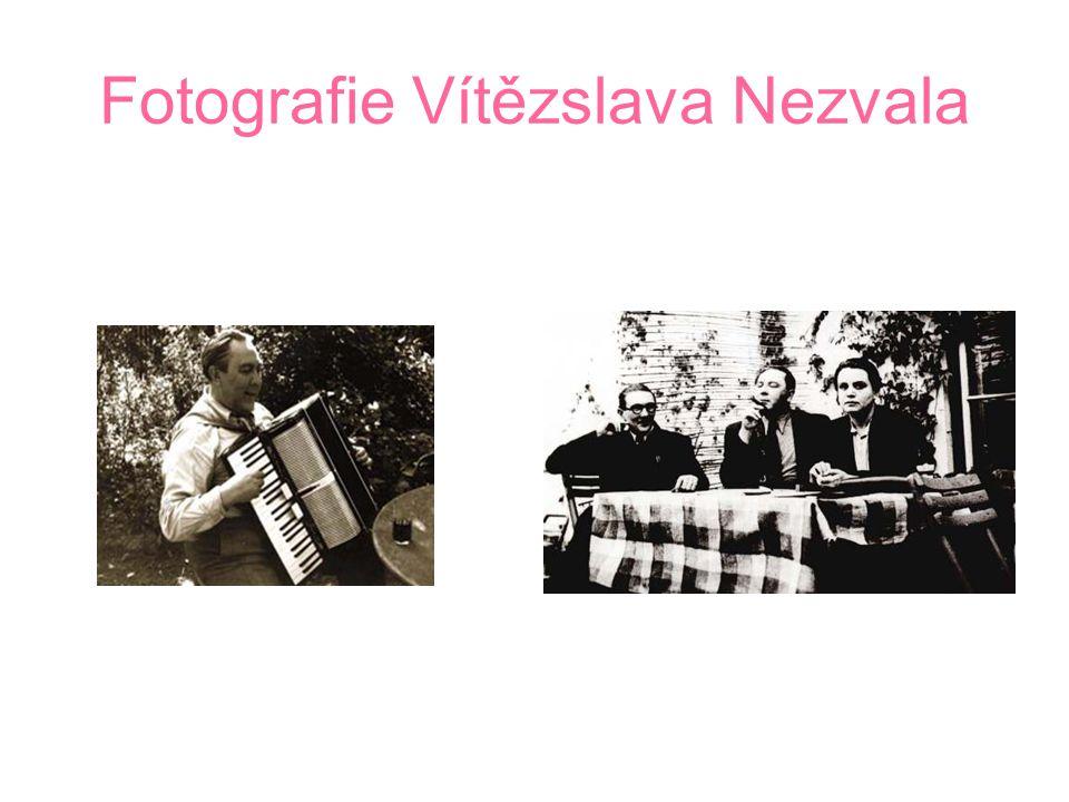 Fotografie Vítězslava Nezvala