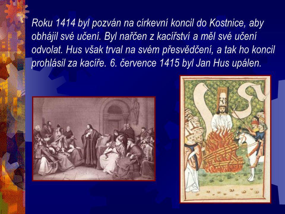 Roku 1414 byl pozván na církevní koncil do Kostnice, aby