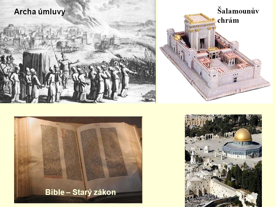 Archa úmluvy Šalamounův chrám Bible – Starý zákon