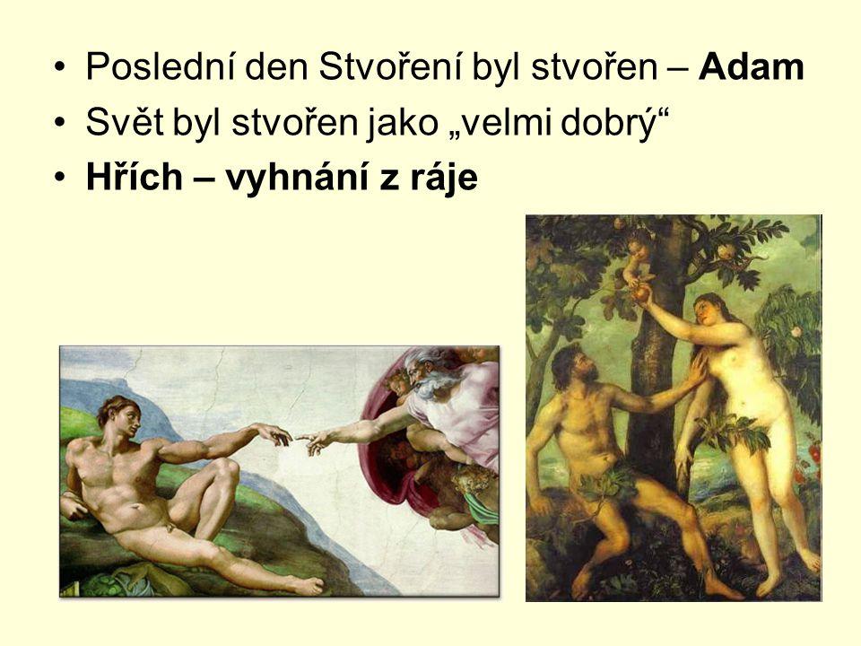 Poslední den Stvoření byl stvořen – Adam