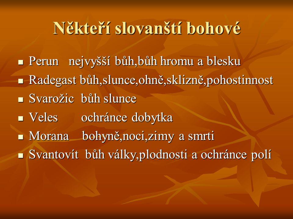 Někteří slovanští bohové