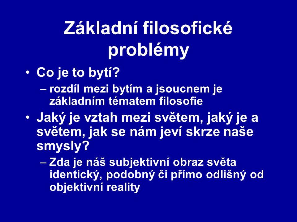 Základní filosofické problémy