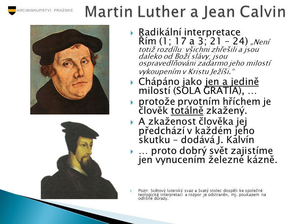 Martin Luther a Jean Calvin