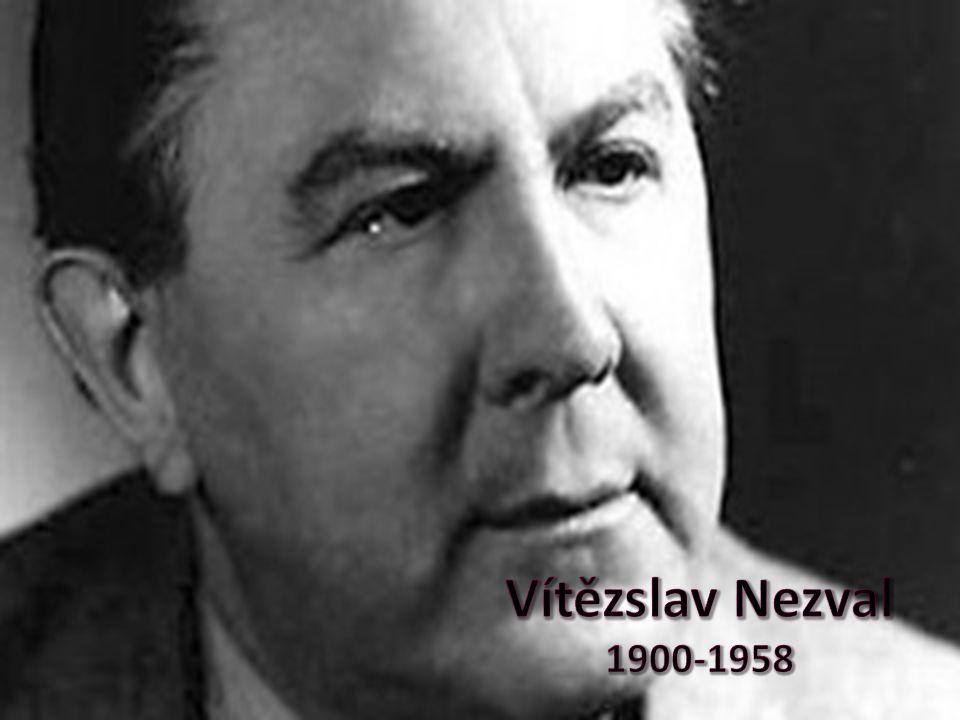 Vítězslav Nezval 1900-1958