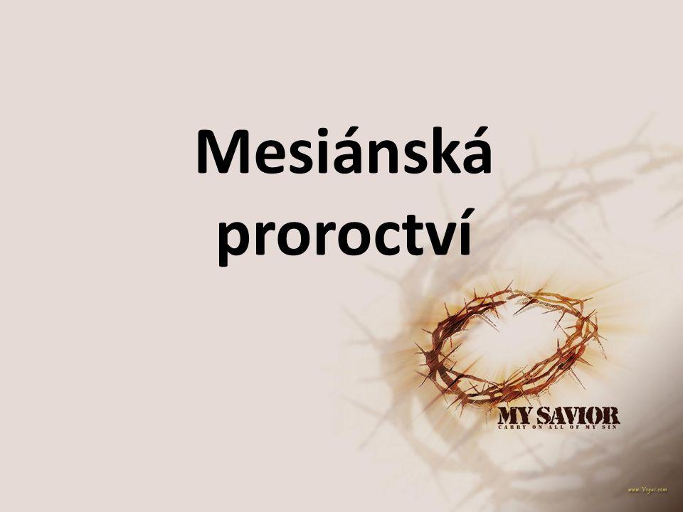 Mesiánská proroctví