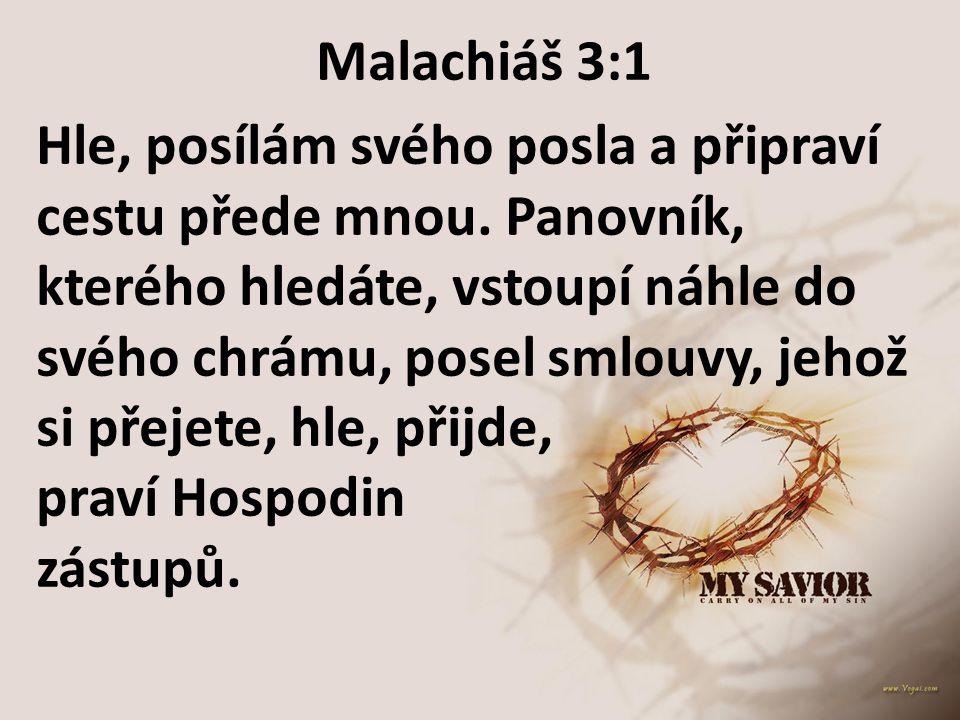 Malachiáš 3:1