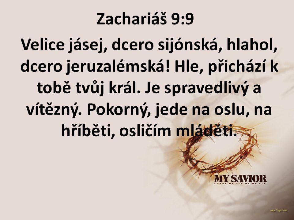 Zachariáš 9:9
