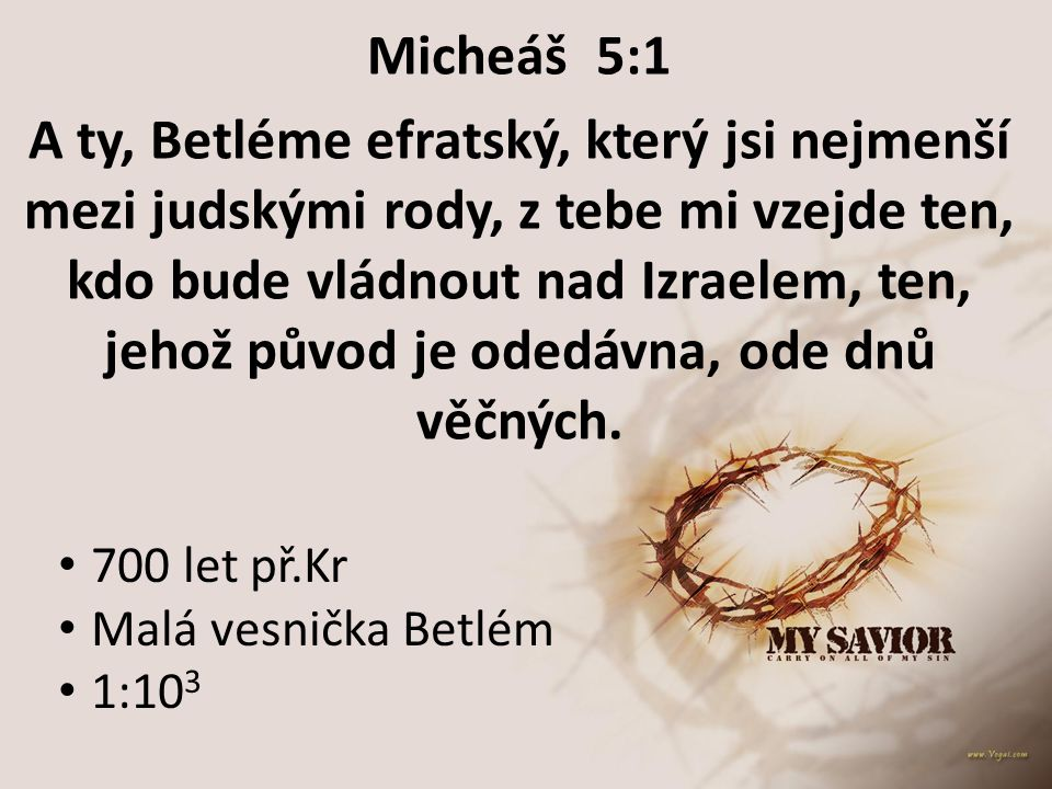 Micheáš 5:1
