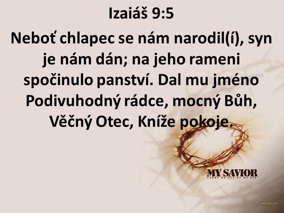 Izaiáš 9:5