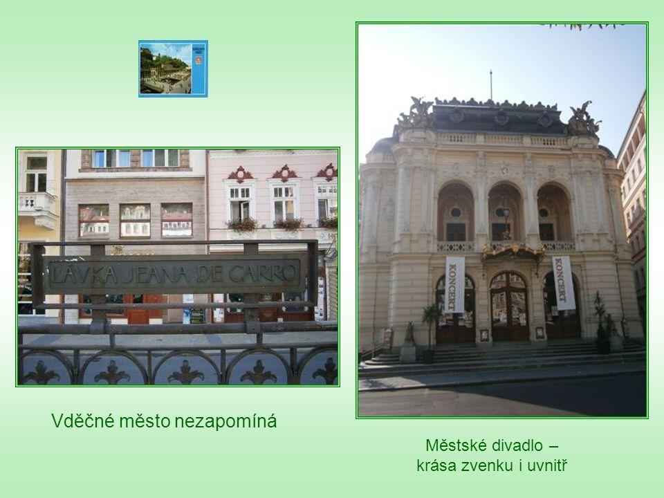 Městské divadlo – krása zvenku i uvnitř