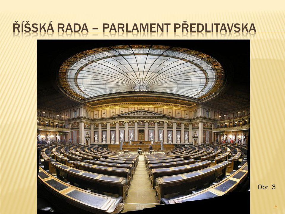 Říšská rada – parlament Předlitavska