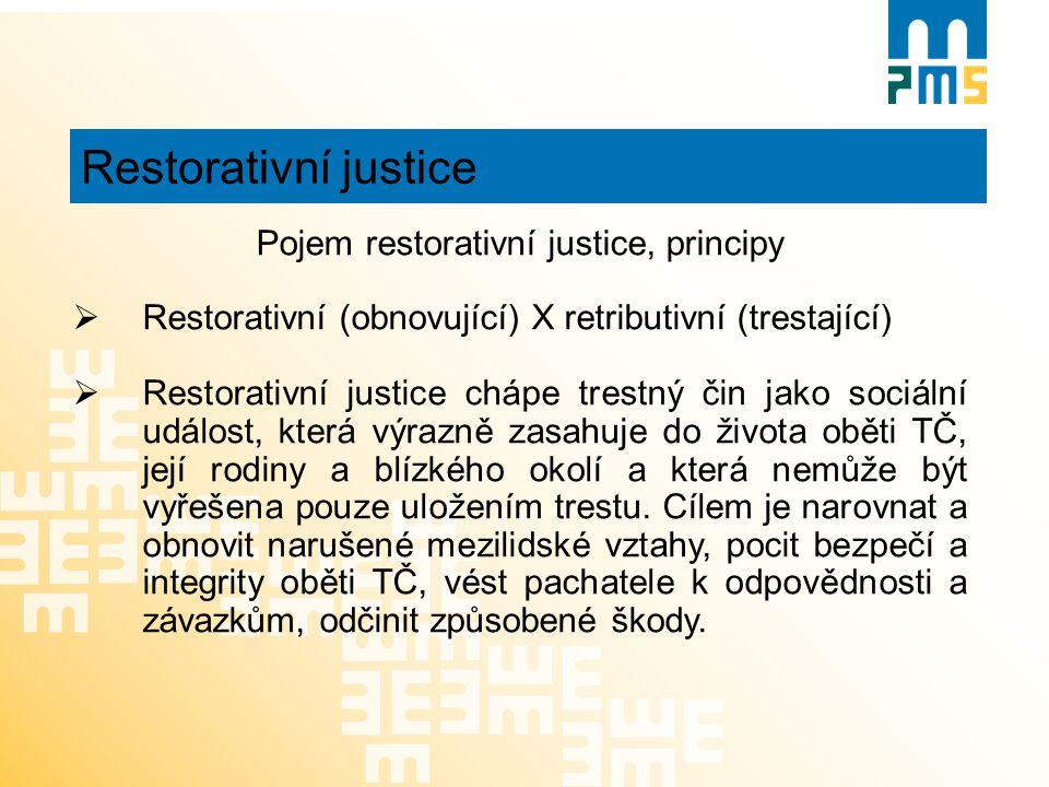 Pojem restorativní justice, principy