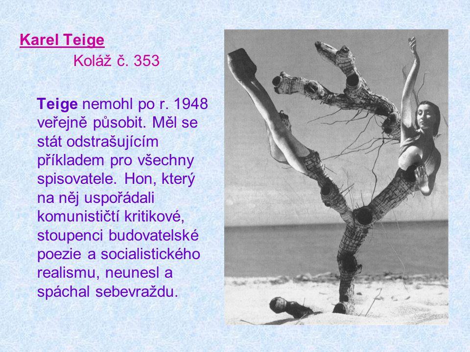 Karel Teige Koláž č. 353.