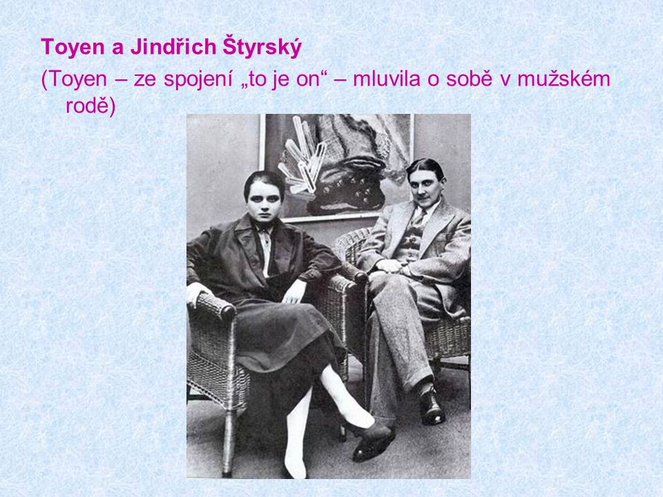 Toyen a Jindřich Štyrský