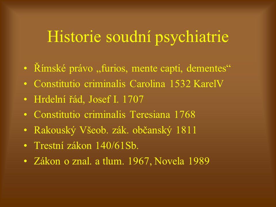 Historie soudní psychiatrie