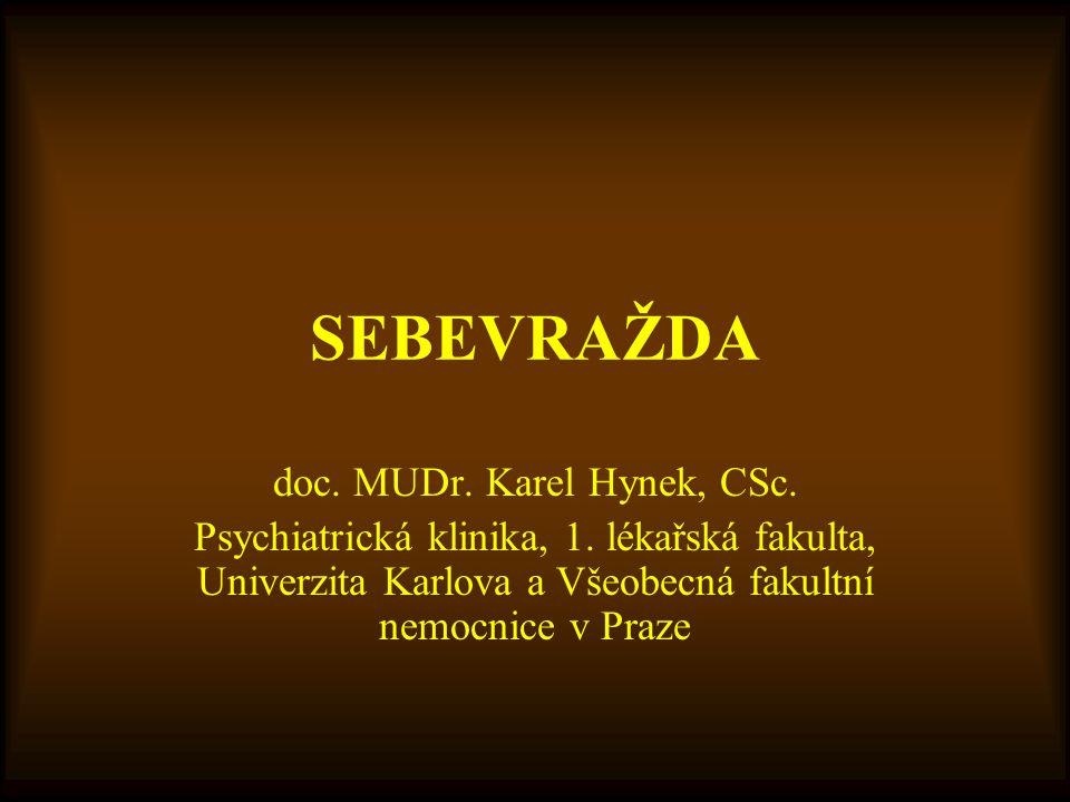 doc. MUDr. Karel Hynek, CSc.