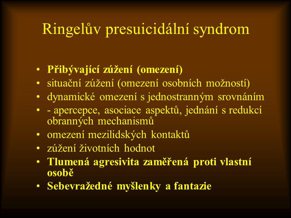 Ringelův presuicidální syndrom