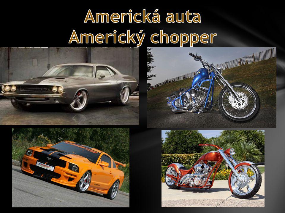 Americká auta Americký chopper