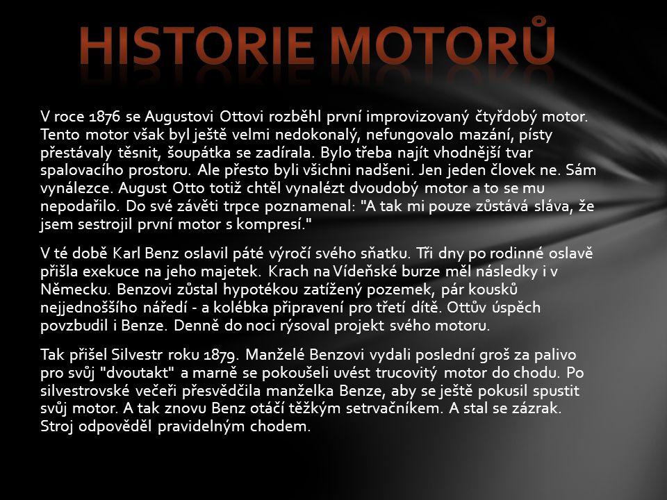 Historie motorů