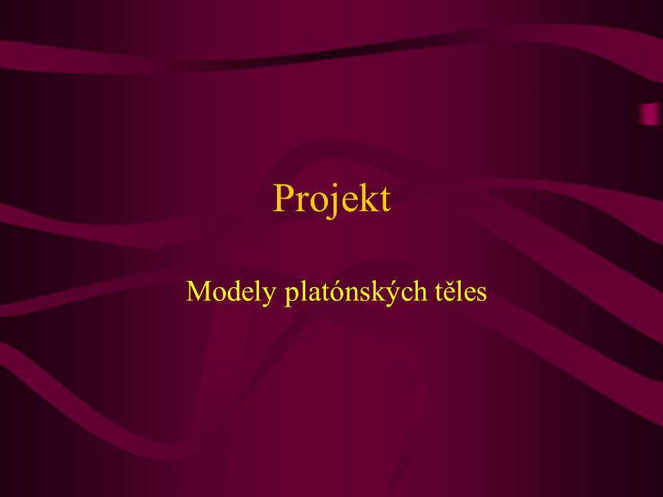 Modely platónských těles