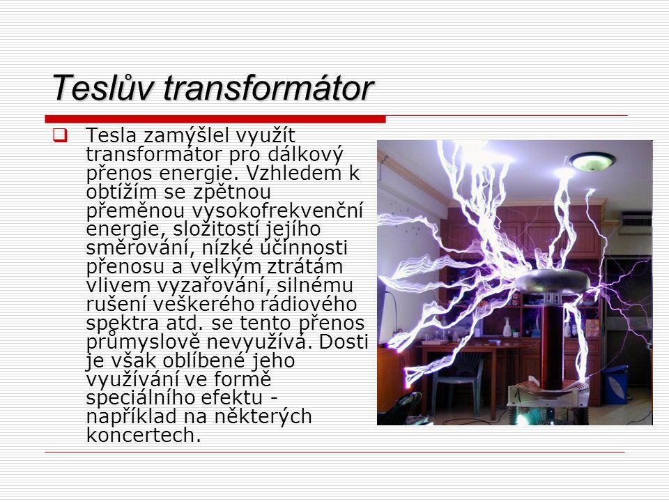 Teslův transformátor