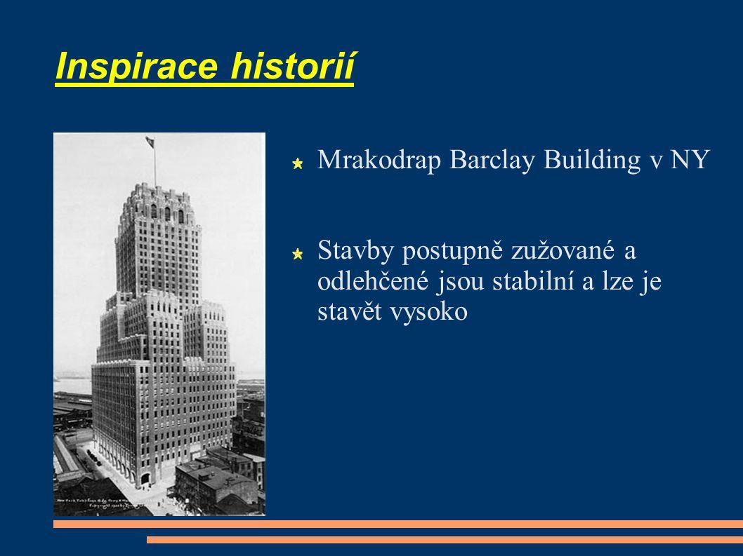 Inspirace historií Mrakodrap Barclay Building v NY