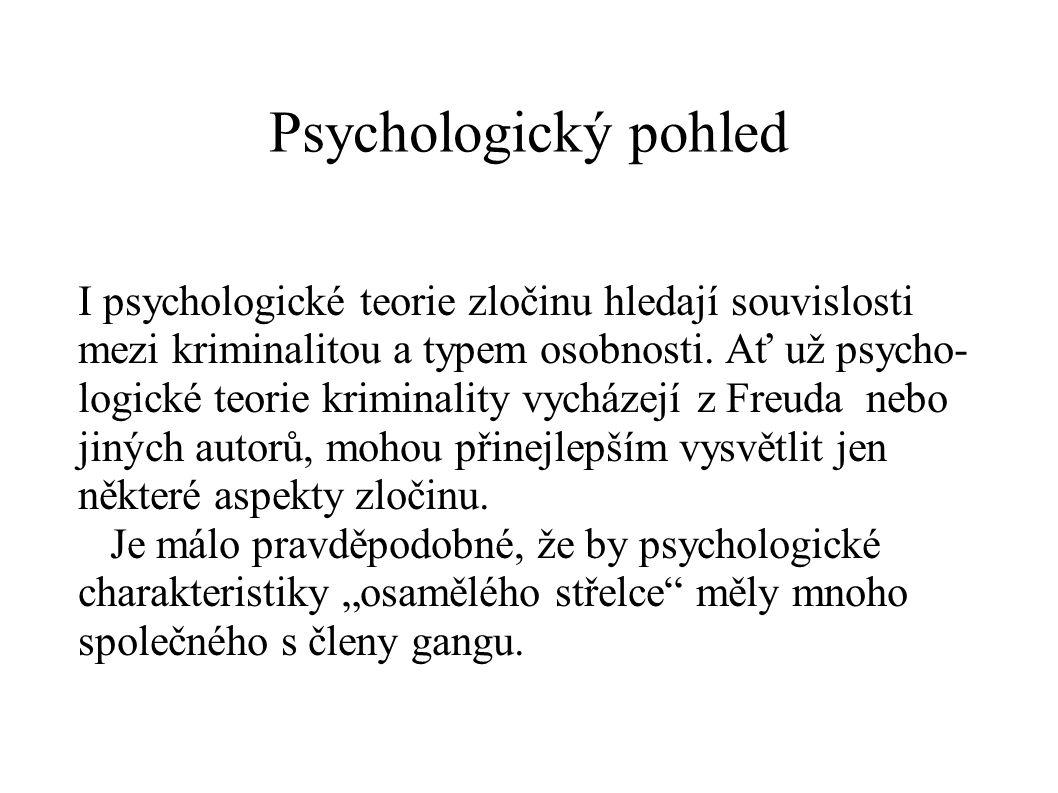 Psychologický pohled