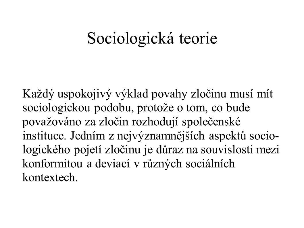 Sociologická teorie