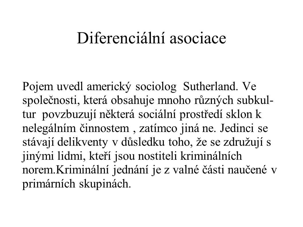 Diferenciální asociace