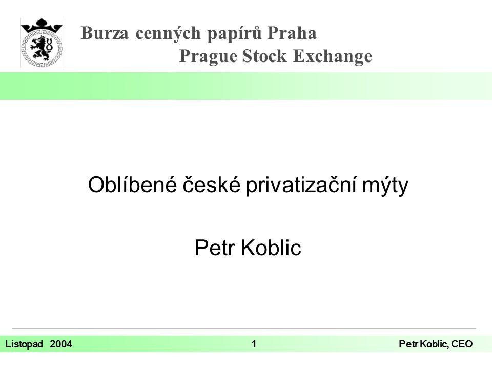 Oblíbené české privatizační mýty