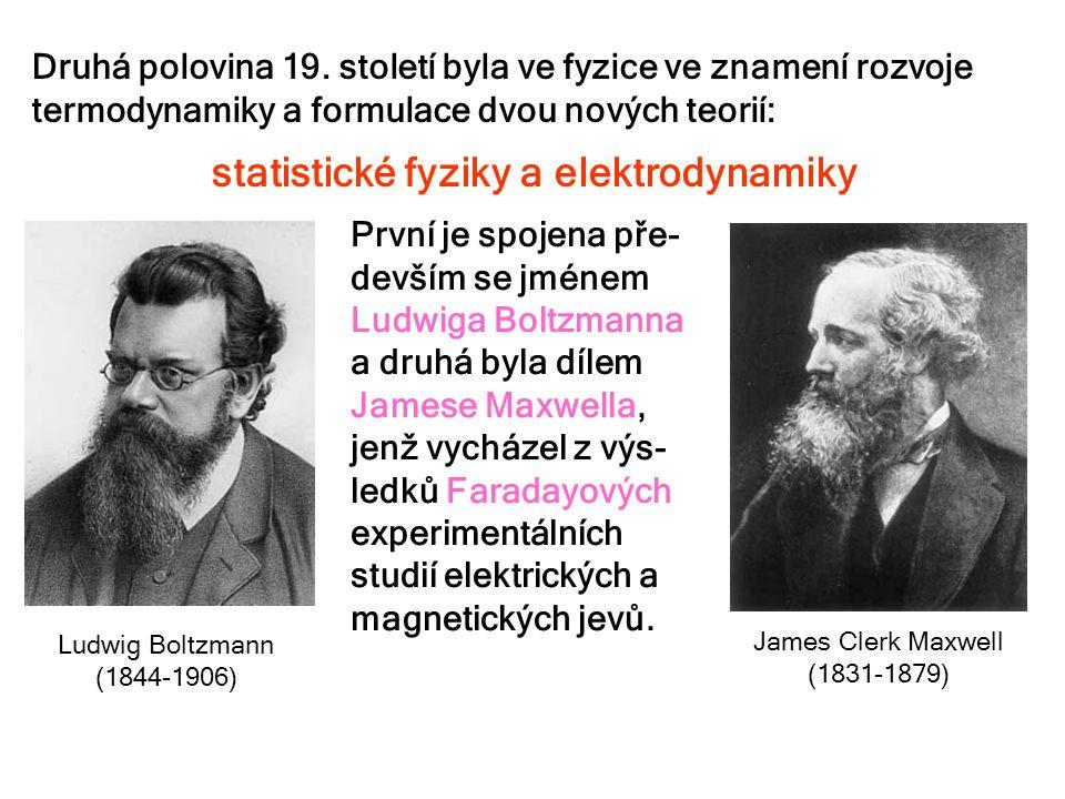 statistické fyziky a elektrodynamiky