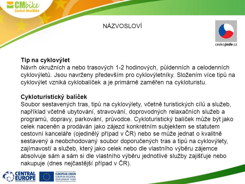 Cykloturistický balíček