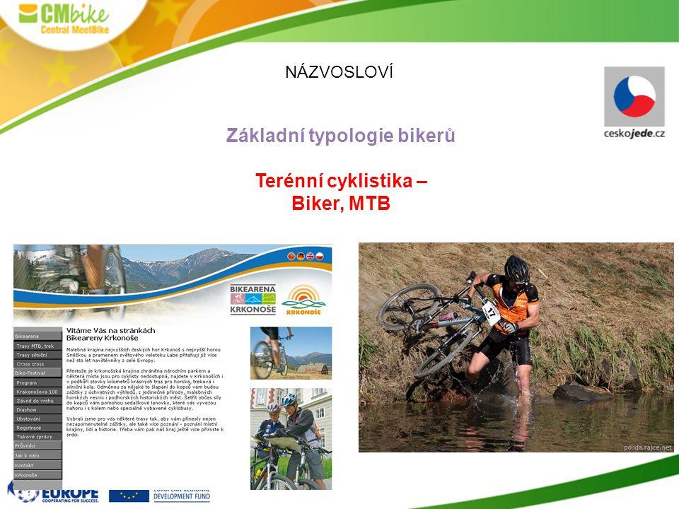 Základní typologie bikerů