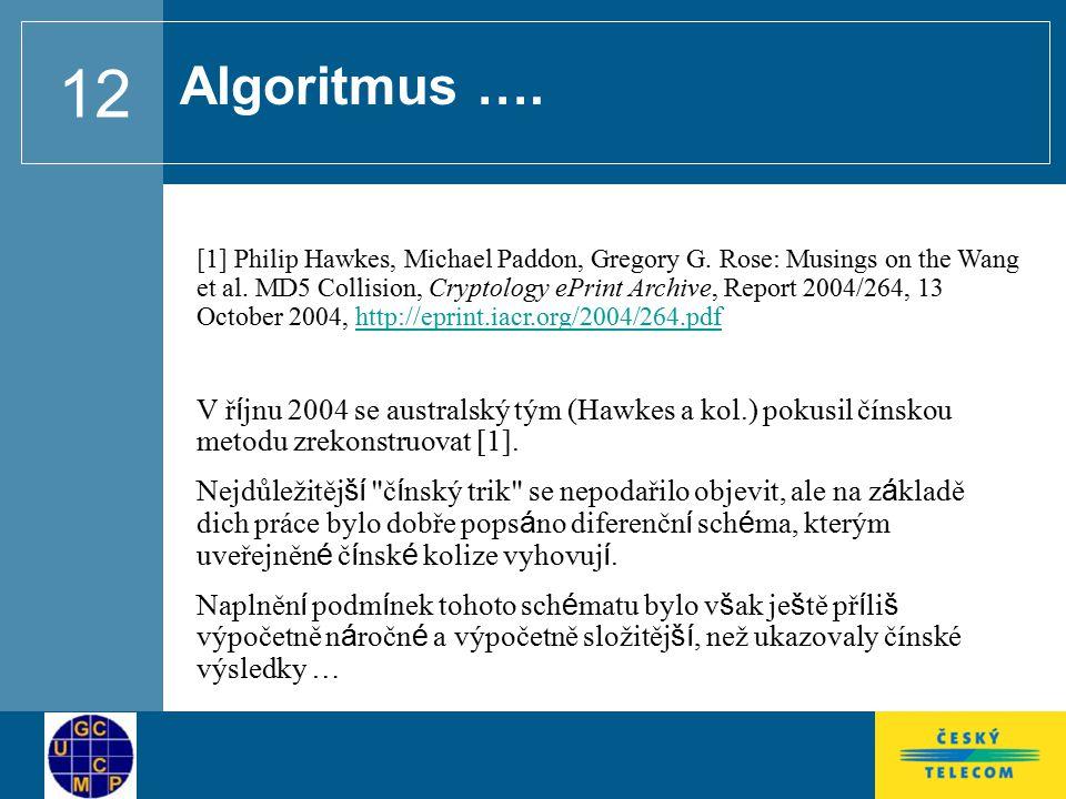Algoritmus ….
