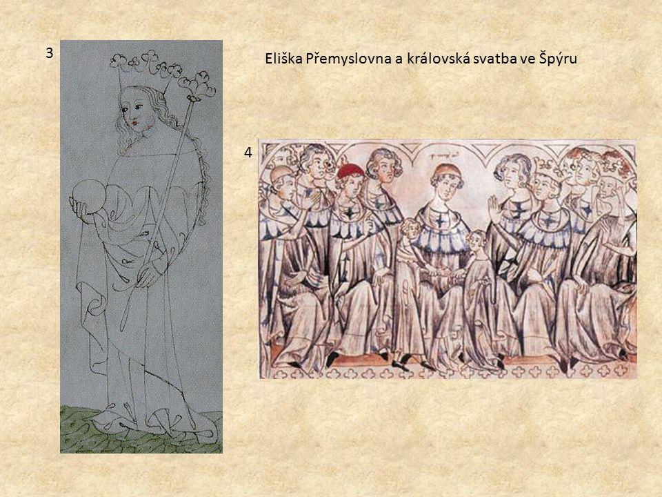 3 Eliška Přemyslovna a královská svatba ve Špýru 4