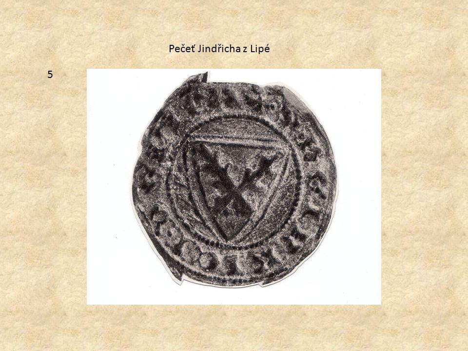 Pečeť Jindřicha z Lipé 5