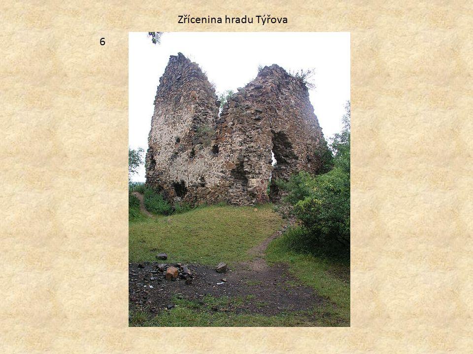 Zřícenina hradu Týřova