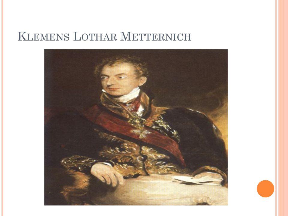 Klemens Lothar Metternich