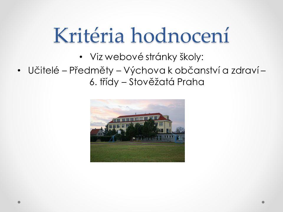 Viz webové stránky školy: