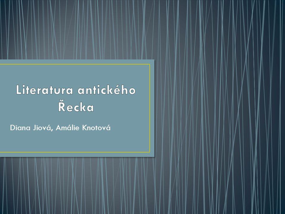 Literatura antického Řecka