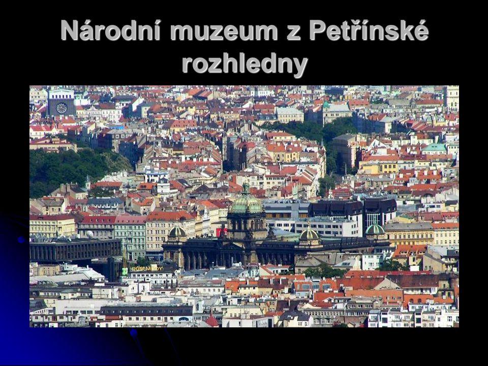 Národní muzeum z Petřínské rozhledny