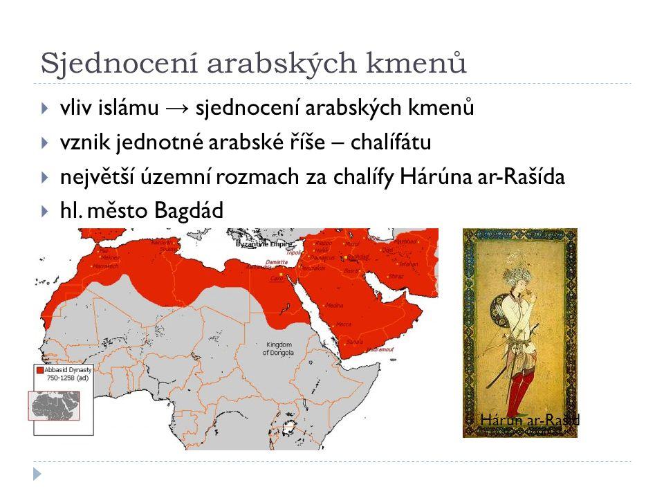 Sjednocení arabských kmenů