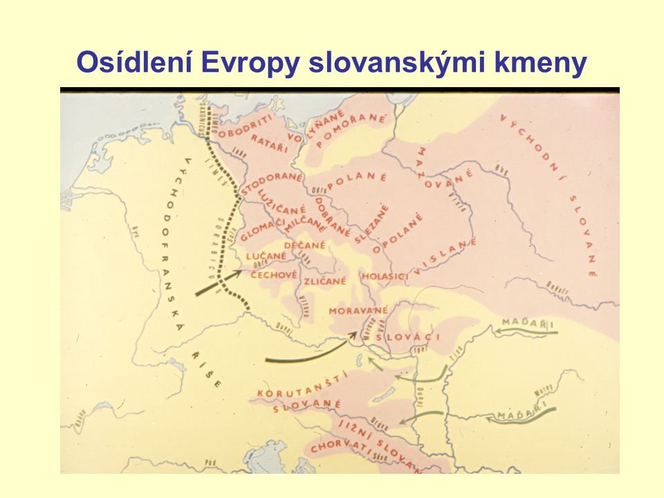 Osídlení Evropy slovanskými kmeny