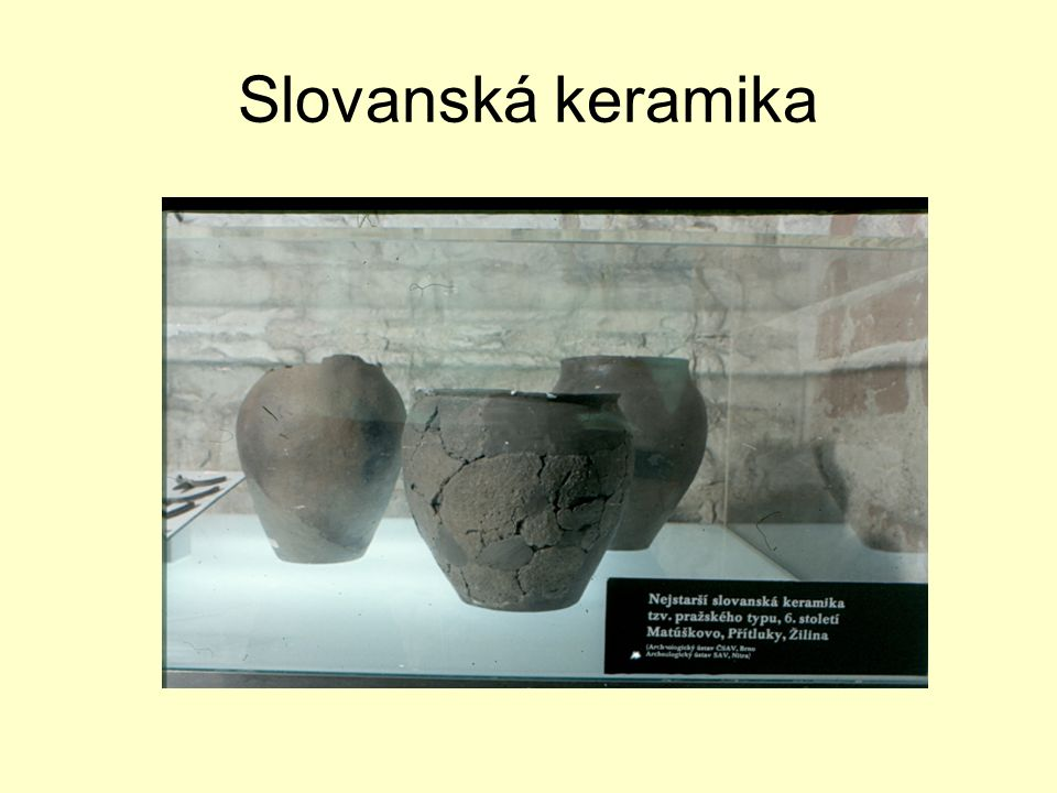 Slovanská keramika