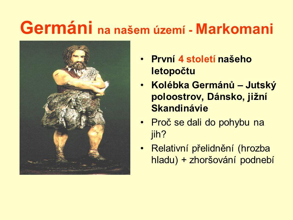 Germáni na našem území - Markomani
